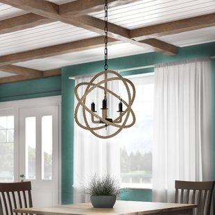 dazelle-3-light-globe-chandelier Beach Themed Chandeliers