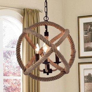 lockard-3-light-chandelier Beach Themed Chandeliers