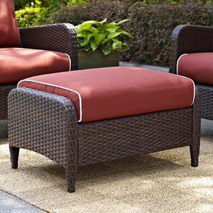 mosca-ottoman-with-cushion Wicker Ottomans and Rattan Ottomans