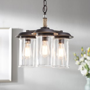 sorrell-3-light-shaded-chandelier Beach Themed Chandeliers