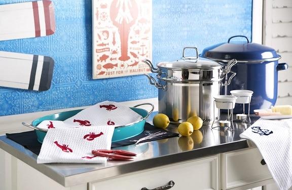 Beach-Kitchen-Design-by-Joss-Main-in-Room-Ideas Beach Kitchen Decor and Coastal Kitchen Decor
