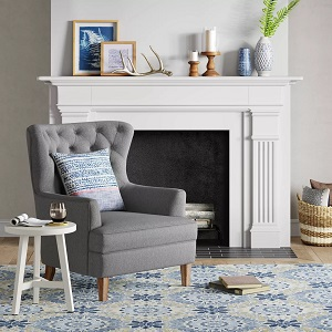 Emmorton-Accent-Wing-Chair-Threshold 100+ Coastal Accent Chairs and Beach Accent Chairs