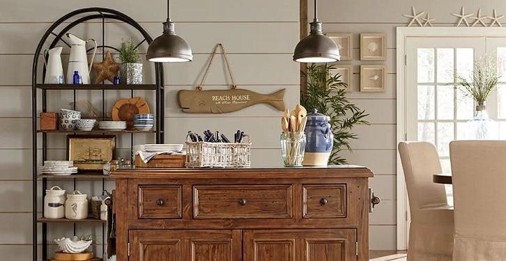 Kitchen-Ideas-by-Birch-Lane Beach Kitchen Decor and Coastal Kitchen Decor