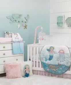 Mermaid Crib Bedding