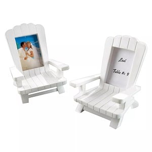 12ct-Kate-Aspen-Beach-Memories-Miniature-Adirondack-Chair-Place 100+ Beach Wedding Decorations and Ideas