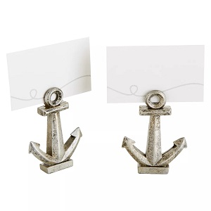 12ct-Kate-Aspen-Nautical-Anchor-Place-Card 100+ Beach Wedding Decorations and Ideas