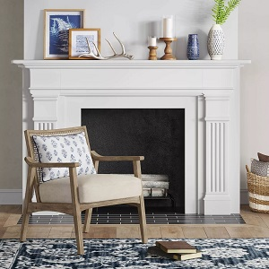 Chelmsford-Cane-Lounge-Chair-Natural-Threshold 100+ Coastal Accent Chairs and Beach Accent Chairs