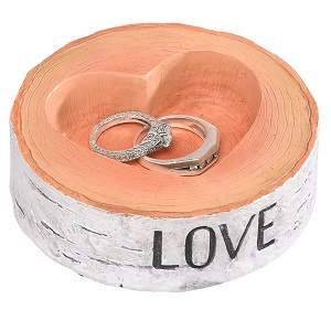 Rustic-Love-Wedding-Collection-Ring-Bearer-Bowl 100+ Beach Wedding Decorations and Ideas