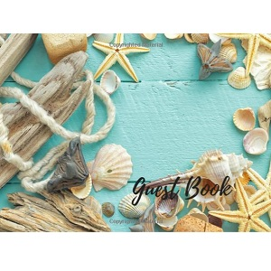 Wedding-Guest-Book-Beach-Theme 100+ Beach Wedding Decorations and Ideas