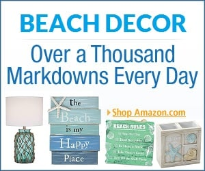 beach decor ad