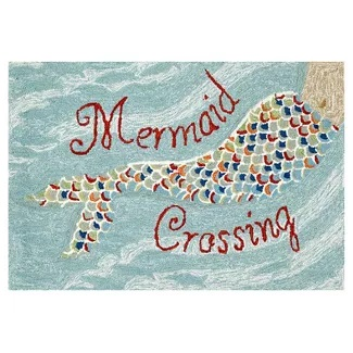 mermaid-crossing-rug 50+ Mermaid Themed Area Rugs