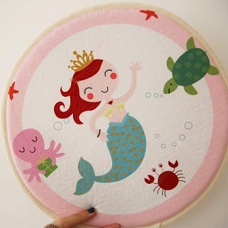soft-kids-play-mermaid-rug 50+ Mermaid Themed Area Rugs