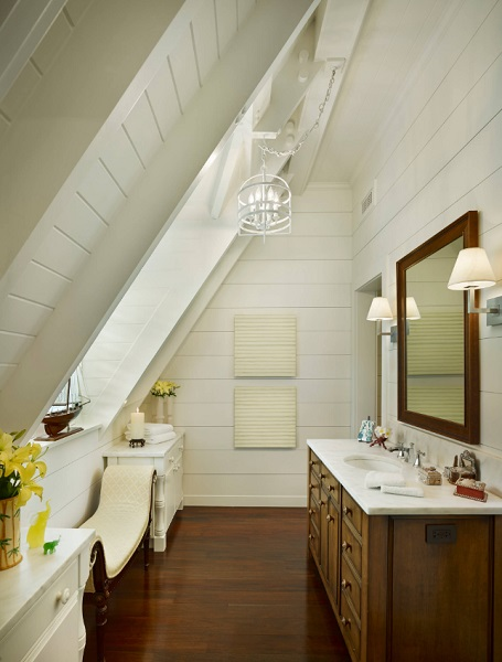 Beach-Style-Bathroom 50+ Beach Cottage Bathroom Ideas