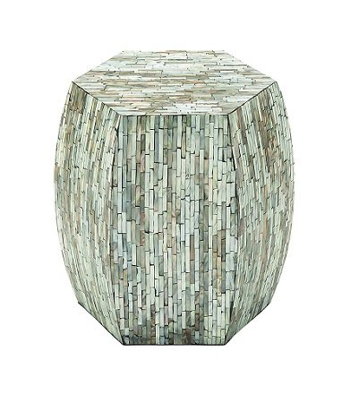 Deco-79-Wood-Inlay-Accent-Table 100+ Coastal End Tables and Beach End Tables