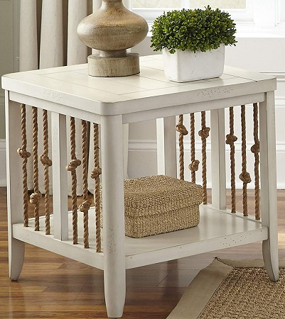 Liberty-Furniture-Dockside-II-End-Table 100+ Coastal End Tables and Beach End Tables