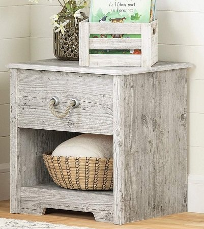 South-Shore-Seaside-Pine-End-Table 100+ Coastal End Tables and Beach End Tables