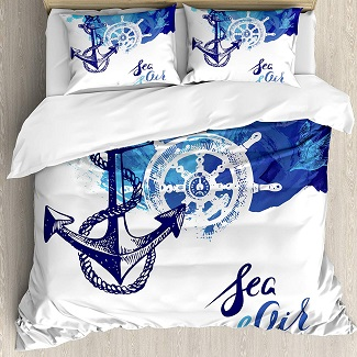 nautical-duvet-cover-set Nautical Bedding Sets & Nautical Bedspreads