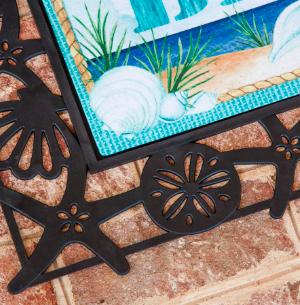 Seashell Doormats and Seashell Floor Mats
