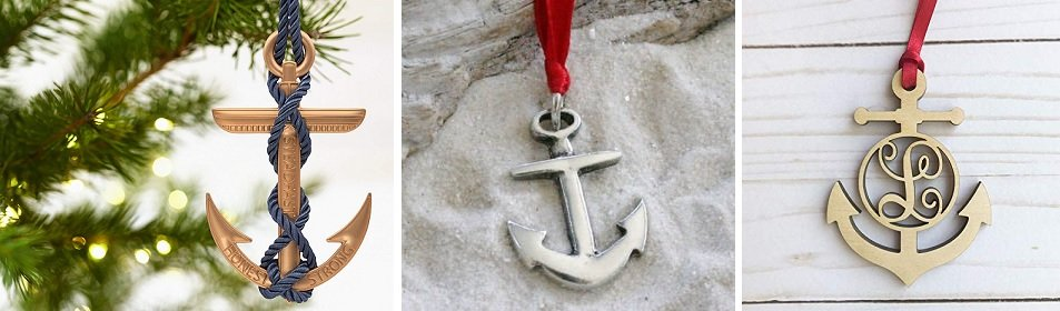 anchor christmas ornaments