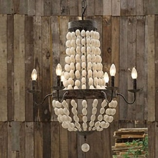 beach-chandeliers Beach Decor and Coastal Decor