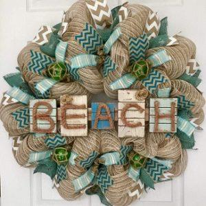 Beach Wreaths & Coastal Wreaths