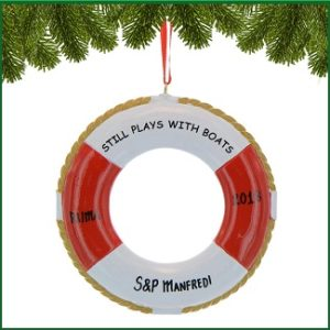 Life Ring Ornaments