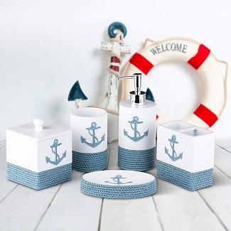 nautical-bathroom-decor Nautical Home Decor