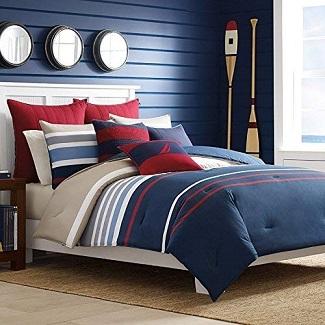 nautical-bedroom-decor Nautical Home Decor