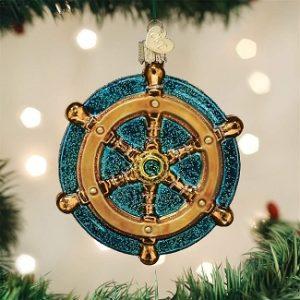 Ship Wheel Ornaments