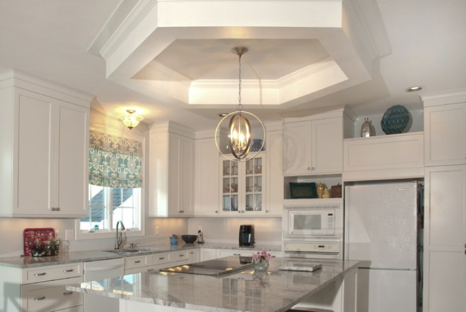 Coastal-Elegance-by-Somrak-Kitchens-Inc 65 Beach Themed Kitchen Ideas