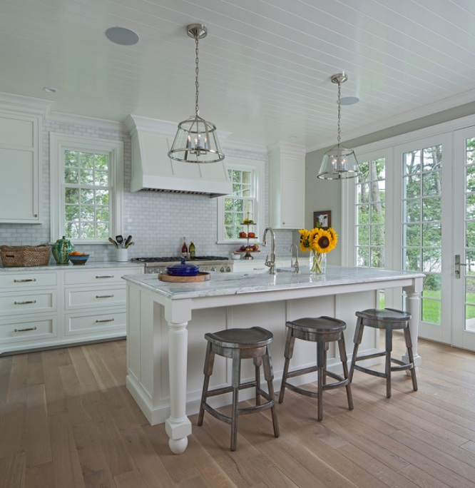 Glen-Lake-Shingle-Style-by-Joseph-Mosey-Architecture-Inc. 65 Beach Themed Kitchen Ideas