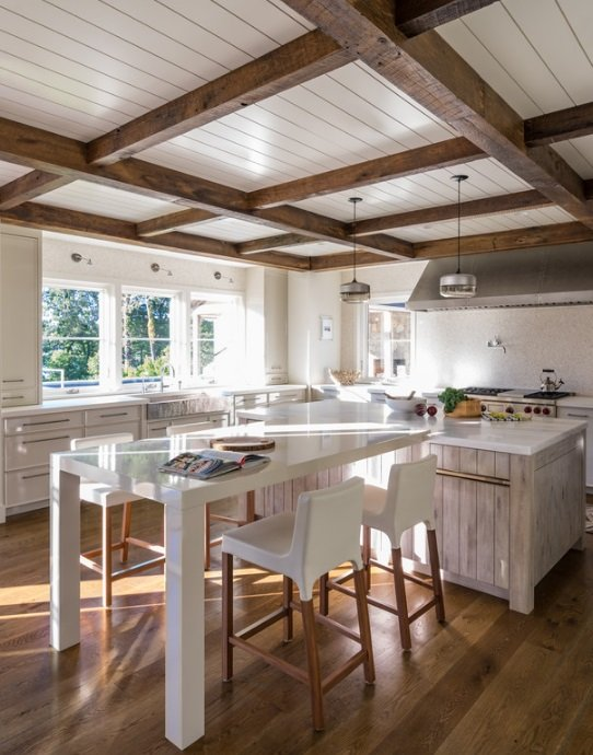 Harbor-View-by-Hutker-Architects 65 Beach Themed Kitchen Ideas
