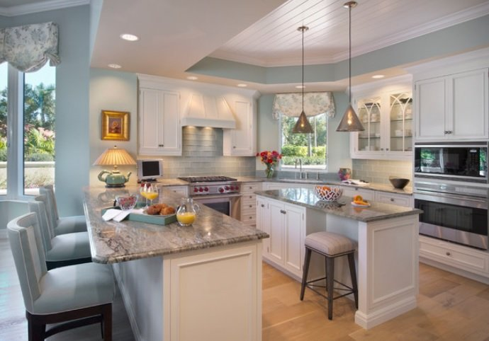 Naples-Remodel-Condo-by-Little-Palm-Design-Group 65 Beach Themed Kitchen Ideas
