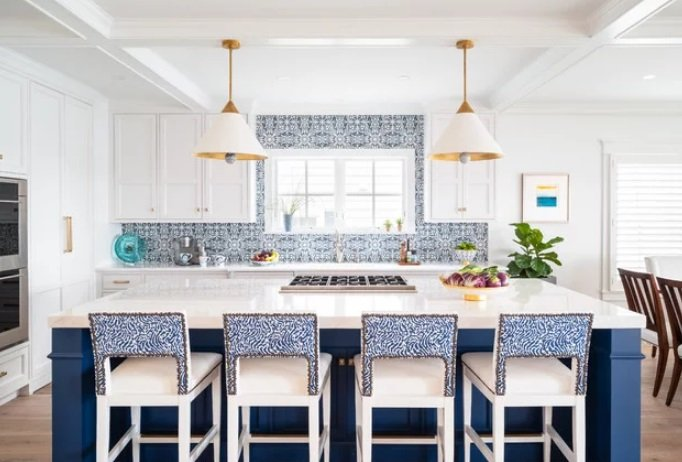Ocean-City-On-The-Bay-by-Diane-Burgoyne-Interiors 65 Beach Themed Kitchen Ideas