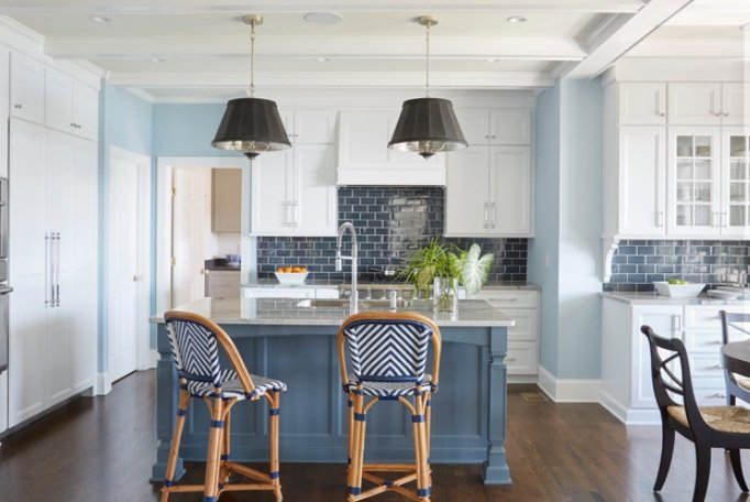 Stylish-Riverfront-by-KBR-Designs-Inc. 65 Beach Themed Kitchen Ideas