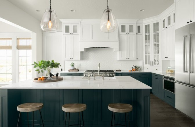 The-West-Hampton-by-Tradewinds-General-Contracting-Inc. 65 Beach Themed Kitchen Ideas