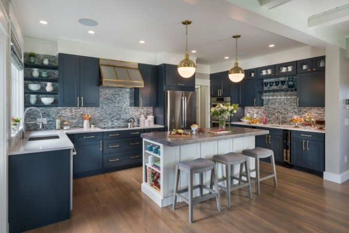 This-Old-House-2017-Idea-House-by-Sweenor-Builders-Incorporated 65 Beach Themed Kitchen Ideas