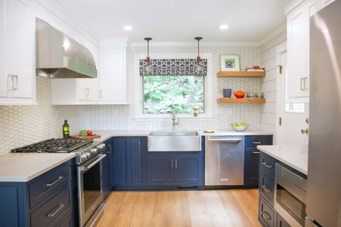 Whitewater-Retreat-by-Geneva-Cabinet-Company-LLC 65 Beach Themed Kitchen Ideas