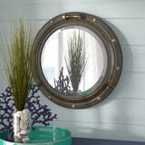 alie-traditional-beveled-distressed-accent-mirror 100+ Porthole Themed Mirrors For Nautical Homes For 2020
