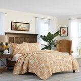 batik-pineapple-single-reversible-quilt 50+ Pineapple Bedding Sets, Quilts, and Duvet Covers