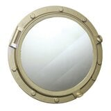 broyles-wooden-porthole-accent-mirror Porthole Themed Mirrors