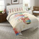 catharine-colorful-pineapple-single-duvet-cover- 50+ Pineapple Bedding Sets, Quilts, and Duvet Covers