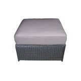 farrish-outdoor-ottoman-with-cushion 50+ Wicker Ottomans and Rattan Ottomans
