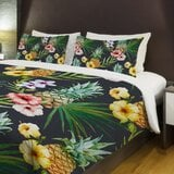 hawaiian-pineapples-lightweight-duvet-cover 50+ Pineapple Bedding Sets, Quilts, and Duvet Covers For 2020