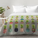 pineapple-party-comforter-set 50+ Pineapple Bedding Sets, Quilts, and Duvet Covers