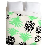 pineapples-duvet-cover-set 50+ Pineapple Bedding Sets, Quilts, and Duvet Covers