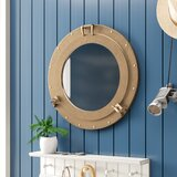 porthole-wall-mirror-1 Porthole Themed Mirrors