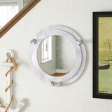 round-decorative-bronze-ship-porthole-mirror 100+ Porthole Themed Mirrors For Nautical Homes For 2020