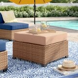 waterbury-ottoman-with-cushion-1 50+ Wicker Ottomans and Rattan Ottomans