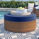 waterbury-ottoman-with-cushion-2 50+ Wicker Ottomans and Rattan Ottomans